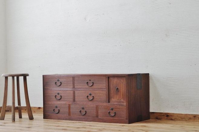 古家具 引き出し。