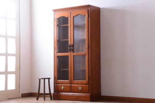 家具の買い替えで手放したブランド家具の収納棚。